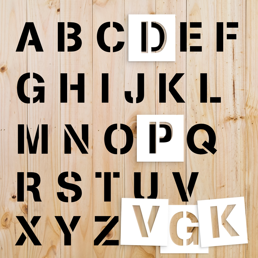 Sjabloon letters