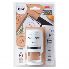 NIO monogram stempel stationary