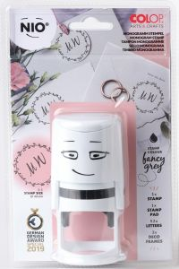 NIO monogram stempel wedding